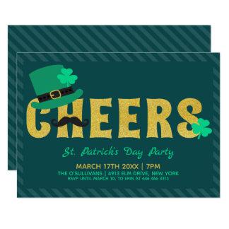 Juicht St Patricks van het Pet van de Kabouter Dag Kaart