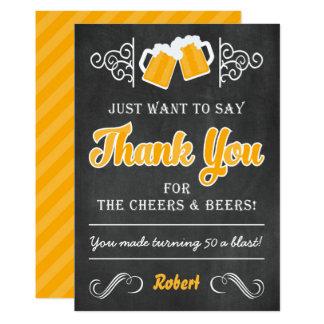 Juicht toe en de Verjaardag van Bieren vijftigste Kaart