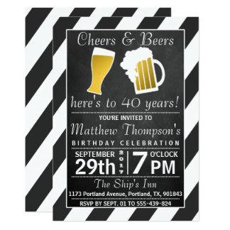 Juicht toe & van Bieren de Partij van de 12,7x17,8 Uitnodiging Kaart