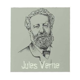 Jules Verne de steampunkschrijver Notitieblok