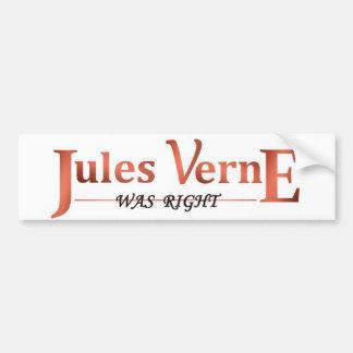 Jules Verne was Juist Bumpersticker