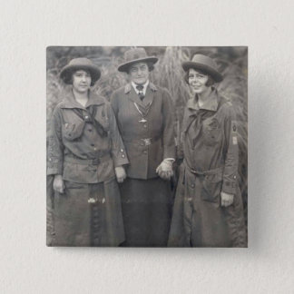 Juliette Gordon Low Vierkante Button 5,1 Cm