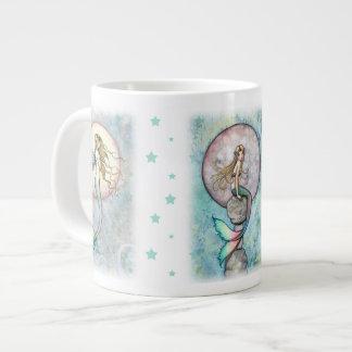 JumboMok van drie de HemelMeerminnen Grote Koffiekop
