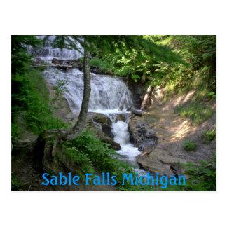 june08 203, de Herfsten Michigan van de Briefkaart
