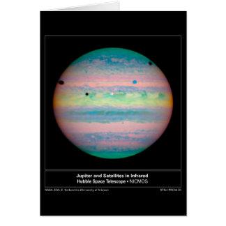 Jupiter& SatellitesInIR-2004-30 Kaart