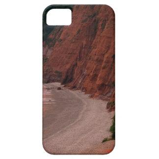 Jura iPhoneSE van het Uitzicht van de Kust + Barely There iPhone 5 Hoesje