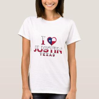 Justin, Texas T Shirt