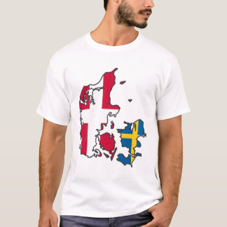 Jylland & Fyn - Det rigtige Danmark T Shirt