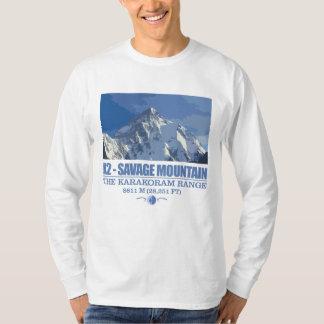 K2 - de Primitieve Berg T Shirt