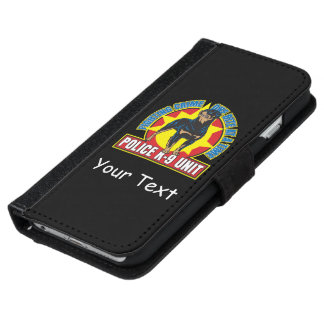 K9 de Beet van Rottweiler iPhone 6 Portemonneehoesje