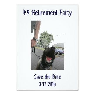 K9 de Uitnodiging van de Pensionering