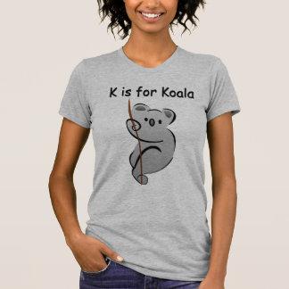 K is voor Koala T Shirt