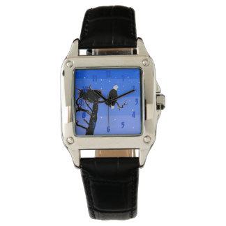 Kaal Eagle in de Winter - het Originele Art. van Horloge
