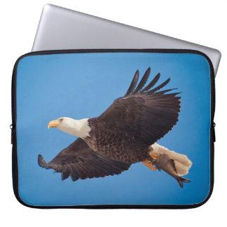 Kaal Eagle met Vissen Laptop Sleeves