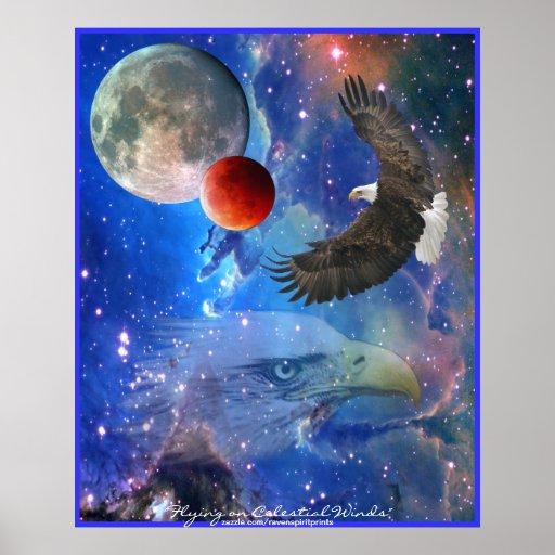 Kaal eagles ruimte planeten het poster van de k zazzle - Ruimte van het meisje parket ...