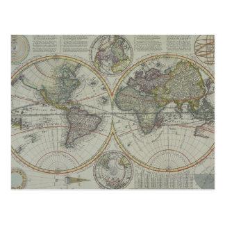 Kaart 8 van de wereld