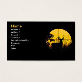 Kaart de bedrijfs van het Profiel Visitekaartjes