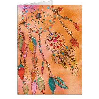 """Kaart """"inheems Amerikaans"""" zuidwestelijk kunstwerk"""