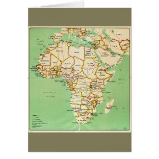 Kaart van Afrika (1966)