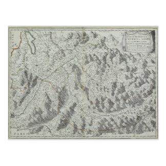 Kaart van Bergen