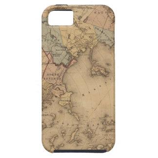 Kaart van Boston 1861 Tough iPhone 5 Hoesje