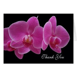 Kaart van de Dag van de Beroeps van de orchidee de