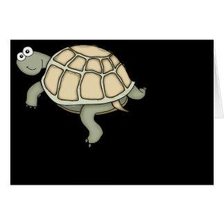 Kaart van de de geweldige schildpad de gelukkige