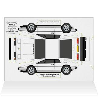 Kaart van de Groeten van de Auto van ESPRIT de
