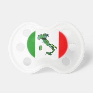 Kaart van de Italiaanse Vlag van Italië en Speen