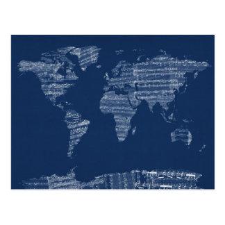 Kaart van de Kaart van de Wereld van de Oude