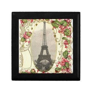 Kaart van de Liefde van Parijs de Vintage Decoratiedoosje