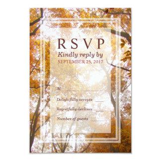 Kaart van de Reactie RSVP van de Bomen van de