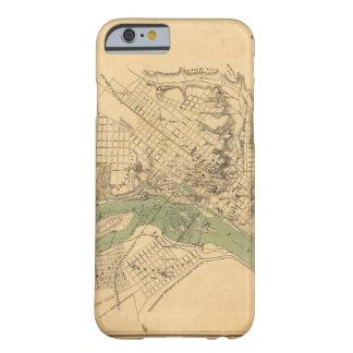 Kaart van de stad van Richmond, Virginia Barely There iPhone 6 Hoesje