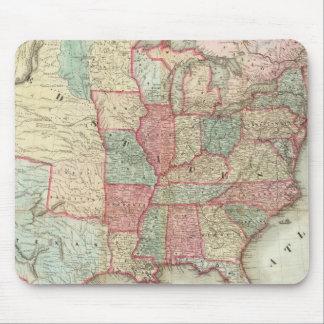 Kaart van de Verenigde Staten van Amerika Muismatten