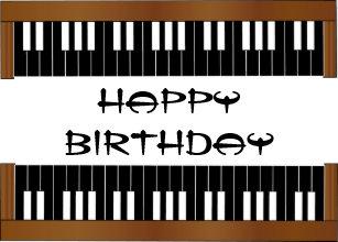Piano Verjaardag Cadeaus Zazzle Nl
