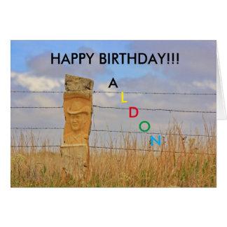 KAART van de Verjaardag van de Steen van Kansas de