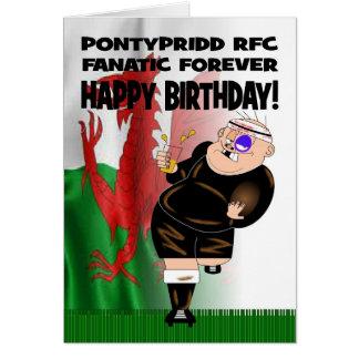 Kaart van de Verjaardag van het Rugby van