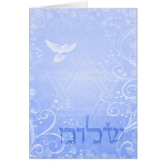 Kaart van de Werveling van de Duif van Shalom de
