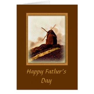 Kaart van de Windmolen van het Vaderdag van de