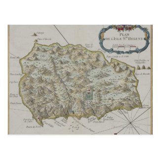 Kaart van Eiland St.Helena