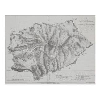 Kaart van het Eiland van St.Helena