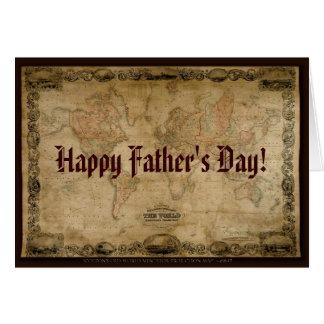 Kaart van het Vaderdag van de Kaart van 1847 van