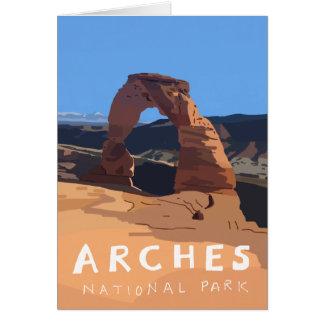 Kaarten van het Park van bogen de Nationale -