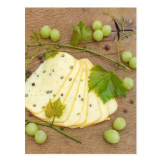 kaas met druiven briefkaart