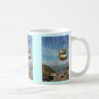 Kabelwagen, La Plagne, Haute Savoie Koffiemok