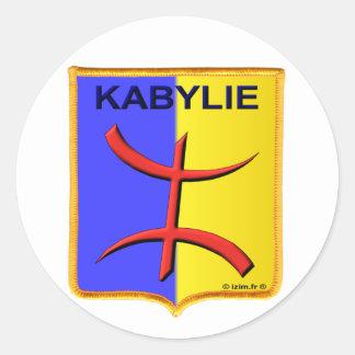 kabylie kabyle amazigh Algerije Ronde Sticker