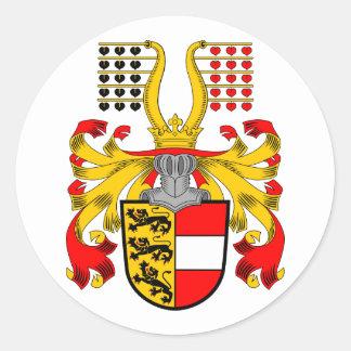 Kaernten, Oostenrijk Ronde Sticker