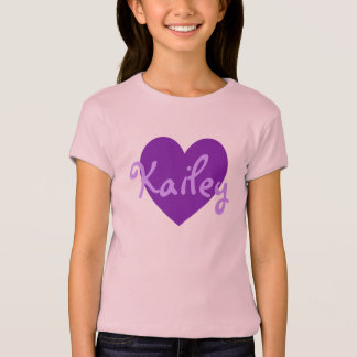 Kailey in Paars T Shirt
