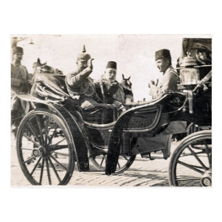 Kaiser en Sultan Briefkaart