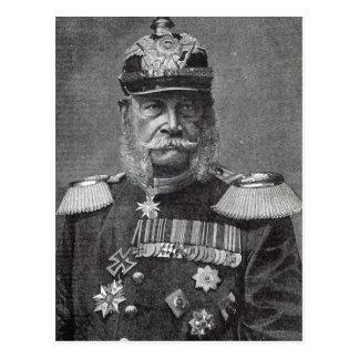 """Kaiser Wilhelm, van het """"Uur van de Vrije tijd"""", Briefkaart"""